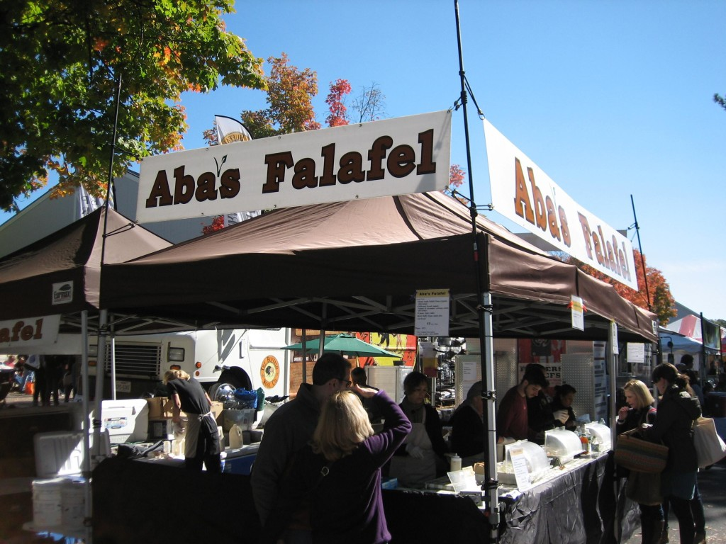 Aba's Falafel took such good care of me - no glutening at all.