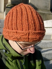 Knitted Library Windows Watchcap